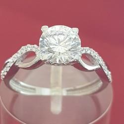 Prsten belo zlato 3