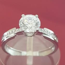 Prsten belo zlato 4