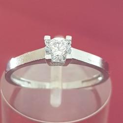Prsten belo zlato 5